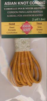 Asian Knot Kordel, Gold, dick