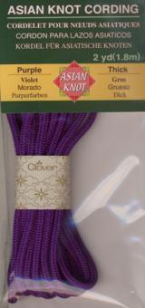 Asian Knot Kordel, Purpur, dick