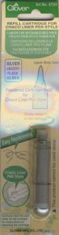 Nachfüllkreide, Silber für Chaco Liner Pen Style