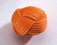 Kugel, umwickelt, Orange - 25mm