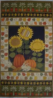 Autumn Bounty Panel - Sonnenblumen