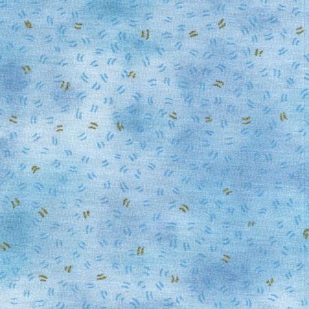 Luminaries, Hellblau mit kleinen goldenen Punkten