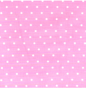 French Hat Box: Dusky Pink Spot Print
