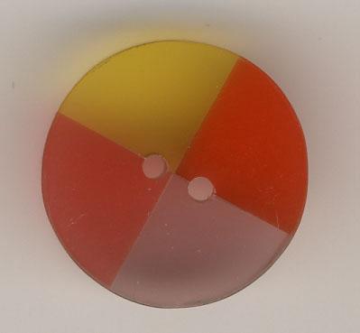Orangetöne (Kunstharz) - 25mm