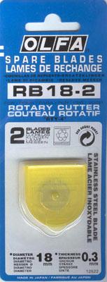 Ersatzklingen für Rollschneider Mini 18mm