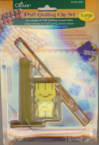 Puff Quilting Clip Set, Groß