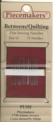Betweens / Hand Applique Nadeln Gr. 12