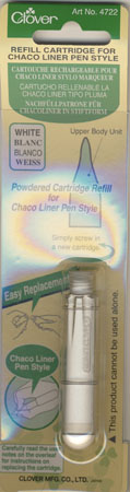 Nachfüllkreide, Weiß für Chaco Liner Pen Style