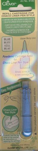 Nachfüllkreide, Blau für Chaco Liner Pen Style