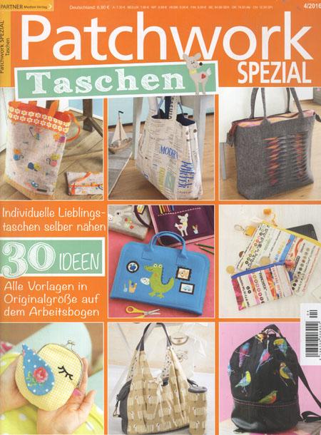 Patchwork Spezial Taschen 4/2016