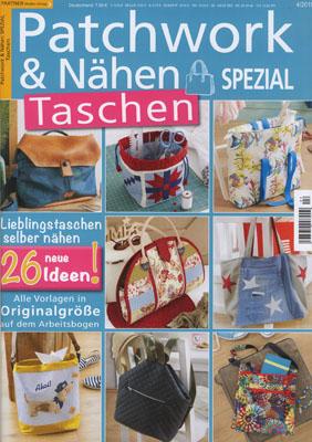 Patchwork & Nähen Spezial Taschen 4/2019