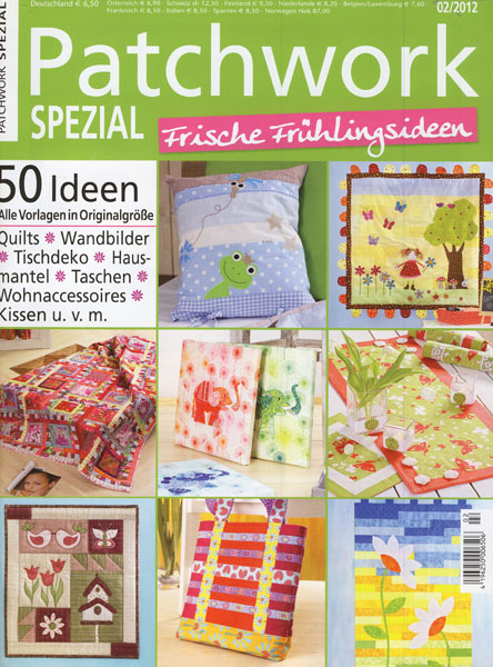 Patchwork Spezial Frische Frühlingsideen 2/2012