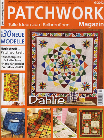 Patchwork Magazin 6/2012
