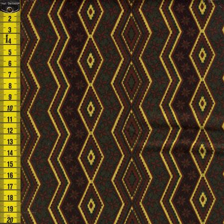 Seminole Muster, Dunkelgrün